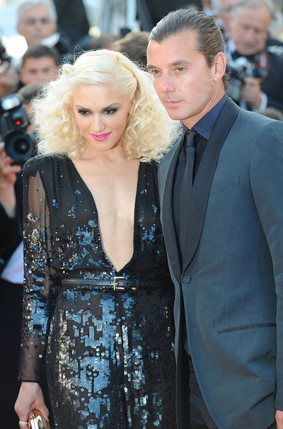 Gwen Stefani and Gavin Rossdale appear at the screening of 'The Tree of Life' at the 64th Cannes Film Festival in Cannes, France on May 16, 2011.