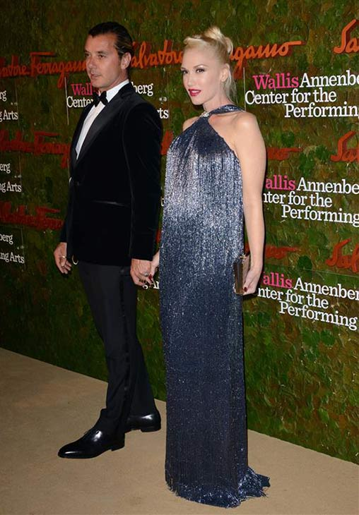 Gavin Rossdale and Gwen Stefani attend the Wallis Annenberg Center for the Performing Arts Inaugural Gala, presented by Salvatore Ferragamo, at the Wallis Annenberg Center in Beverly Hills on Oct. 17, 2013. <span class=meta>(Lionel Hahn &#47; AbacaUSA &#47; Startraksphoto.com)</span>
