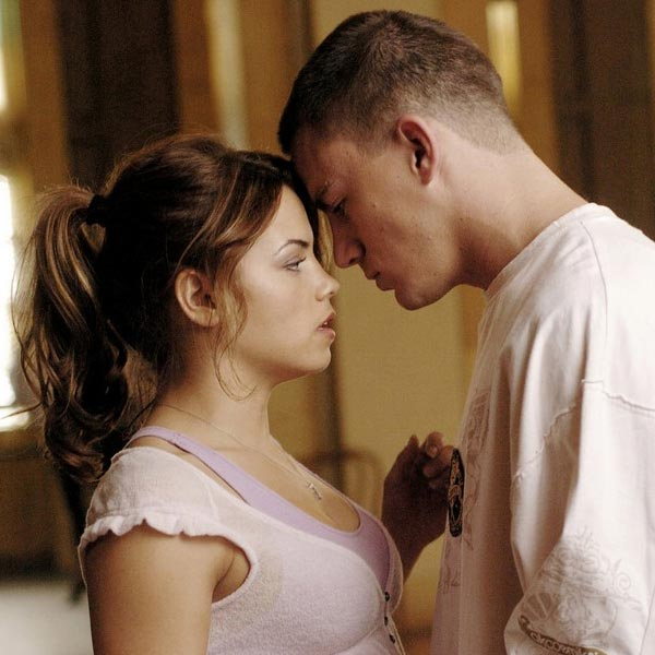 "<div class=""meta ""><span class=""caption-text "">Channing Tatum appears in a photo from the 2006 drama film, 'Step Up.' The actor, who danced in the movie alongside his co-star -- Jenna Dewan -- ended up marrying the starlet in 2009. The pair welcomed their second child in June 2013. (Summit Entertainment)</span></div>"
