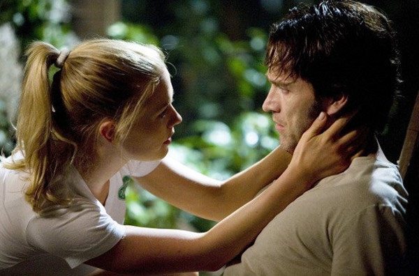 Anna Paquin and Stephen Moyer appear in a scene from the TV show 'True Blood.'