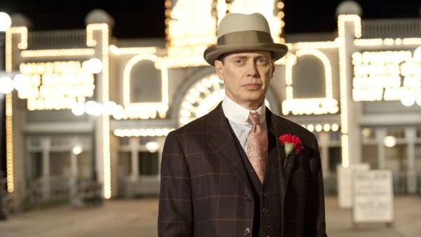 "<div class=""meta ""><span class=""caption-text "">Steve Buscemi of 'Boardwalk Empire' on being nominated for Outstanding Lead Actor in a Drama Series:  'There are so many amazing performances this year by actors I really admire, that it means a lot to me to being included among them,' the actor said in a statement obtained by OnTheRedCarpet.com.   This is Buscemi's fifth Emmy nomination. The actor has been nominated twice for his role in 'The Sopranos' in both 2001 and 2004, once for his role in '30 Rock' in 2008, and again previously for 'Boardwalk Empire' in 2011. The actor has also won a Golden Globe for Best Performance by an Actor in a Television Series - Drama in 2011 for his role in 'Boardwalk Empire.'  (Pictured: Steve Buscemi in a scene from 'Boardwalk Empire.') (HBO)</span></div>"