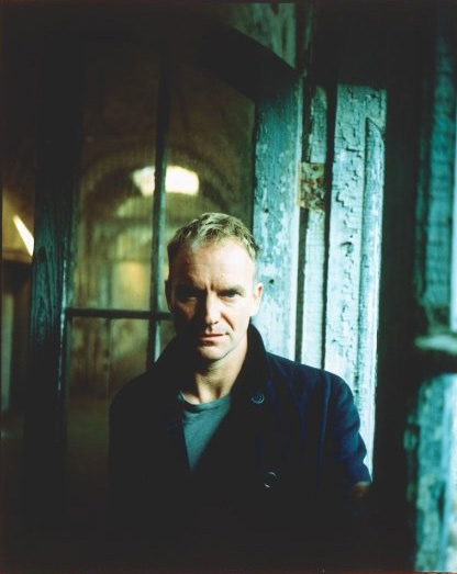 Sting appears in an undated photo from his...