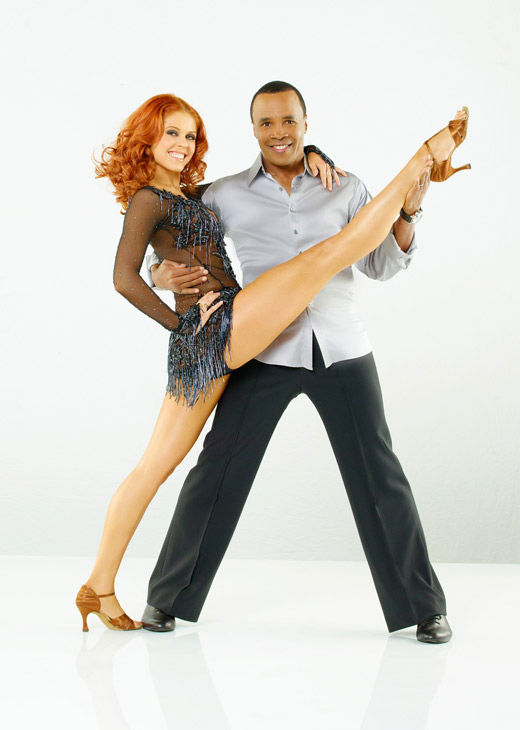 Sugar Ray Leonard, the legendary boxer joins professional dancer Anna Trebunskaya, who returns for her seventh season, on season 12 of &#39;Dancing with the Stars,&#39; which premieres on March 21 at 8 p.m.  <span class=meta>(ABC Photo&#47; Bob D&#39;Amico)</span>
