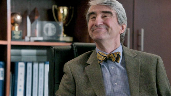 Sam Waterston appears in a scene from 'The Newsroom.'