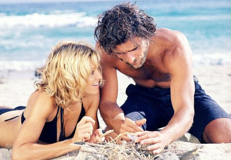 "<div class=""meta ""><span class=""caption-text "">'Swept Away' received the Razzie for Worst Picture of 2002. The movie stars Madonna and Adriano Giannini and was directed by her then-husband Guy Richie. In the movie, a stuck-up socialite is stranded on a Mediterranean island with a communist sailor. (Columbia Tristar Pictures / Screen Gems)</span></div>"