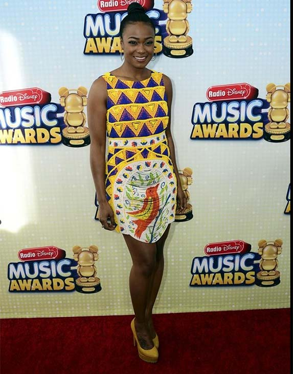 Tatiana Ali attends the 2013 Radio Disney Music Awards at the Nokia Theatre L.A. Live on April 27, 2013. The event will air on the Disney Channel and on Radio Disney on May 4. <span class=meta>(Disney Channel &#47; Todd Wawrychuk)</span>