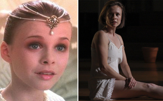 Tami Stronach appears in a scene from the 1984...
