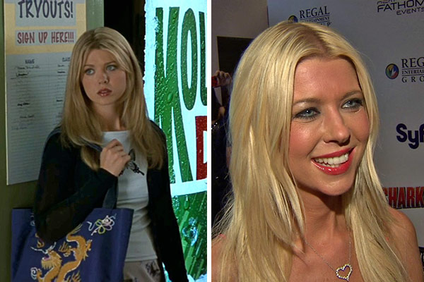 Tara Reid played Vicky in the first two &#39;American Pie&#39; films and reprised her role in the 2012 movie &#39;American Reunion.&#39; She also starred in the 2002 college comedy movie &#39;Van Wilder&#39; with Ryan Reynolds and from 2003 to 2005, she played Danni Sullivan on the series &#39;Scrubs.&#39; In 2005, hosted the E! reality series &#34;Wild On,&#34; which saw her traveling to countries such as Greece, France and Italy and attending parties at nightclubs and other hot spots.  In January 2010, Reid appeared on the cover of Playboy. Also that year, she filmed the movies &#39;The Fields&#39; with Cloris Leachman and is also set to star in the film &#39;Piranha 3DD.&#39;  In July 2013, Reid appeared in the SyFy Original Movie &#39;Sharknado.&#39; She will reprise her role in &#39;Sharknado 2: The Second One,&#39; due out in 2014.  &#40;Pictured: Tara Reid appears in a scene from &#39;American Pie&#39; in 1999. &#47; Tara Reid talks to OTRC.com at the premiere of &#39;Sharknado&#39; on Aug. 2, 2013. Watch our interview with the actress.&#41; <span class=meta>(Universal Pictures &#47; OTRC)</span>