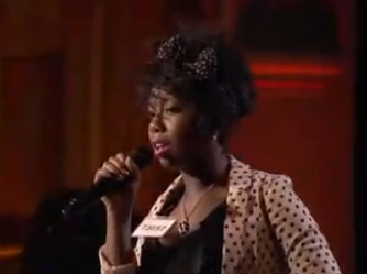 "<div class=""meta ""><span class=""caption-text "">Ta-Tynisa Wilson, a 20-year-old from Aurora, IL, was made an 'American Idol' Top 24 finalist. (Pictured: Tatynisa Wilson performs in front of the judges on 'American Idol' on an episode that aired on Feb. 3, 2011.) (Michael Becker / FOX)</span></div>"