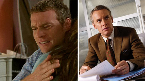 Tate Donovan played Jimmy on &#39;The O.C.&#39; and later went on to play Tom in the series &#39;Damages.&#39; He has also had roles in shows such as &#39;Law &amp; Order: Criminal Intent&#39; and &#39;No Ordinary Family.&#39; &#40;Pictured: Tate Donovan appears in a scene from &#39;The O.C.&#39; &#47; Tate Donovan appears in a scene from &#39;Damages.&#39;&#41; <span class=meta>(Warner Bros. Television &#47; FX)</span>