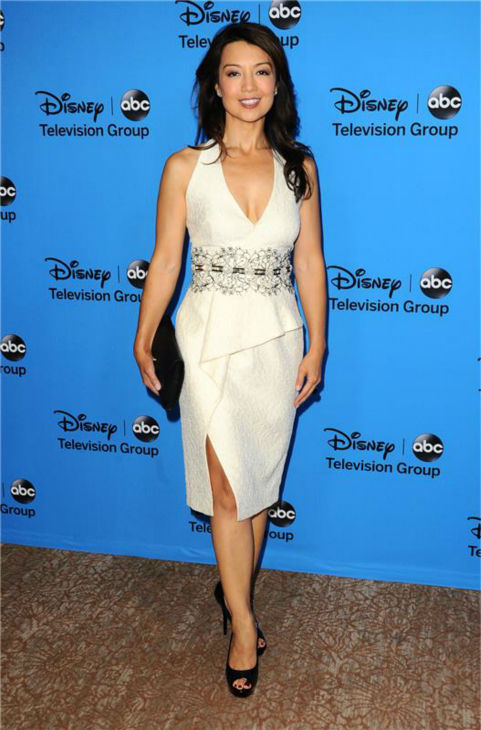 "<div class=""meta image-caption""><div class=""origin-logo origin-image ""><span></span></div><span class=""caption-text"">Ming-Na Wen, a cast member on the new ABC show 'Marvel's Agents of S.H.I.E.L.D. and the voice of Disney's 'Mulan,' attends the Disney-ABC Television TCA panel event in Beverly Hills, California on Aug. 4, 2013. (Sara De Boer / startraksphoto.com)</span></div>"