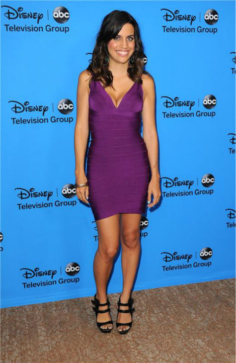 Natalie Morales, a cast member on the new ABC show &#39;Trophy Wife,&#39; attends the Disney-ABC Television TCA panel event in Beverly Hills, California on Aug. 4, 2013. <span class=meta>(Sara De Boer &#47; startraksphoto.com)</span>