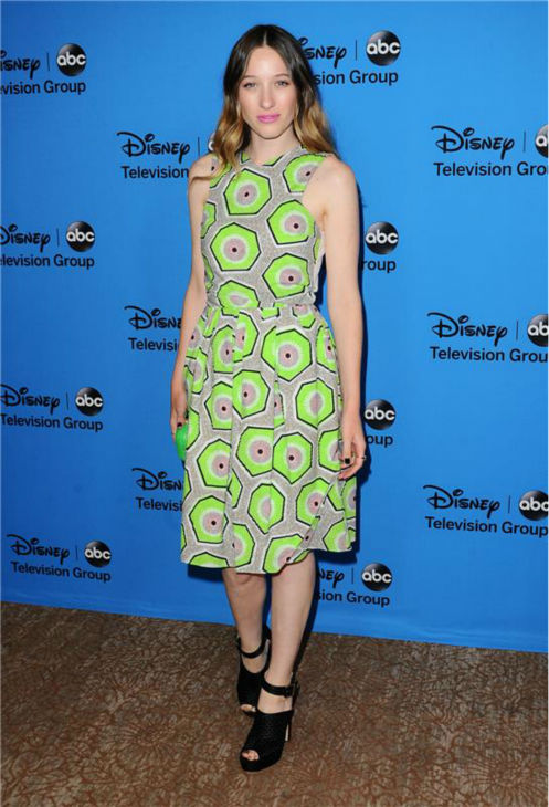 Sophie Lowe, who plays Alice on the new ABC show &#39;Once Upon A Time In Wonderland,&#39; attends the Disney-ABC Television TCA panel event in Beverly Hills, California on Aug. 4, 2013. <span class=meta>(Sara De Boer &#47; startraksphoto.com)</span>