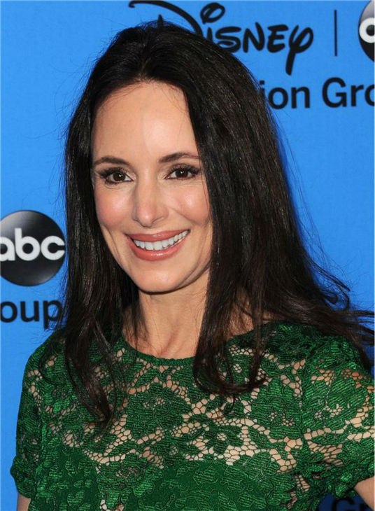 Madeleine Stowe, who plays Victoria Grayson on ABC&#39;s &#39;Revenge,&#39; attends the Disney-ABC Television TCA panel event in Beverly Hills, California on Aug. 4, 2013. <span class=meta>(Sara De Boer &#47; startraksphoto.com)</span>