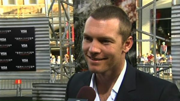 Sam Worthington was at the premiere of...