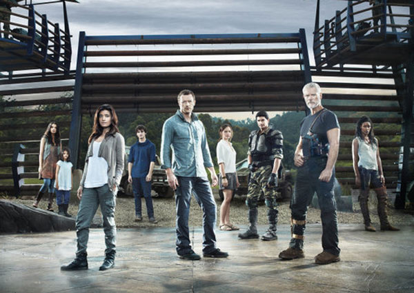 Still image of the cast from 'Terra Nova.'