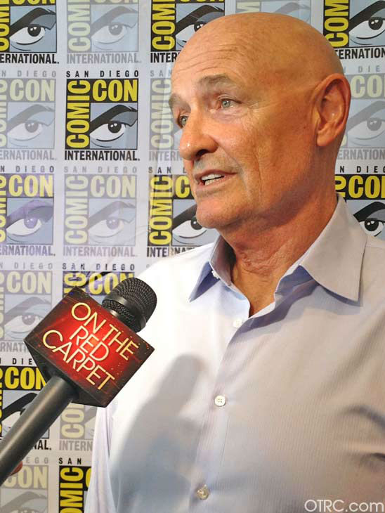 Terry O&#39;Quinn of the new television series &#39;666 Park Avenue&#39; appears in a photo at San Diego Comic-Con on Friday, July 13, 2012. <span class=meta>(OTRC Photo)</span>