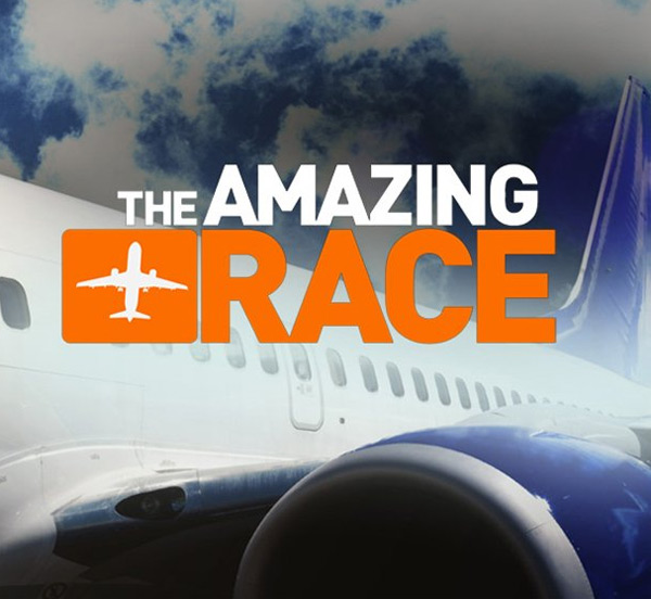 Still image from the show 'The Amazing Race.'