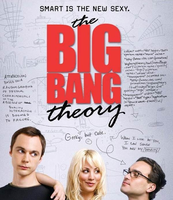 Still image of the cast from 'The Big Bang Theory.'