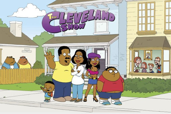 Still image of the cast from 'The Cleveland Show.'