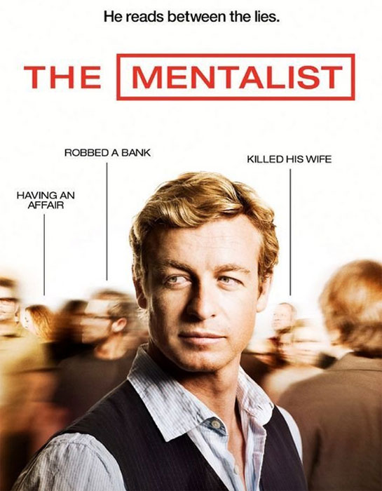 Still image of Simon Baker from the show 'The Mentalist.'