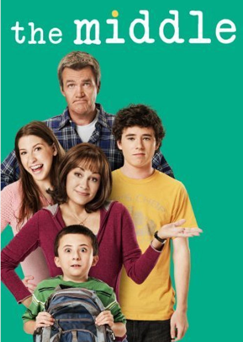 Still image of the cast from 'The Middle.'