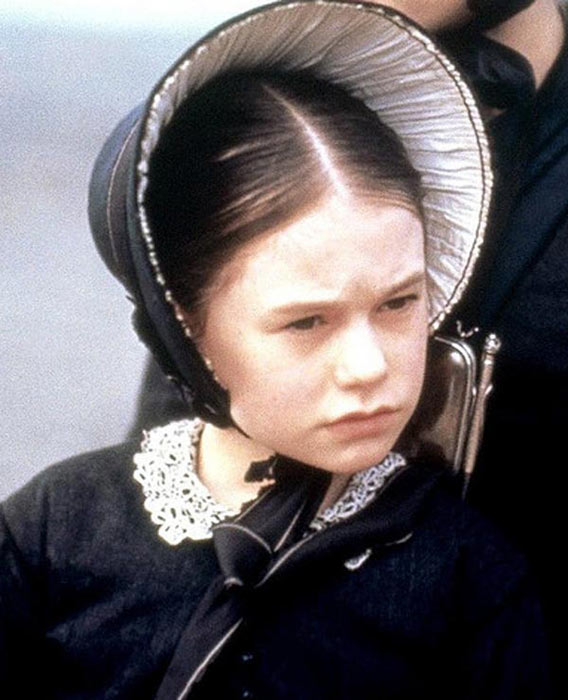 Anna Paquin appears in a scene from the 1993 film 'The Piano.'