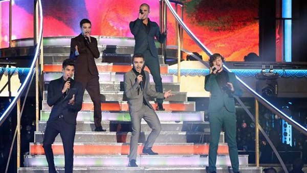 The Wanted performed on 'Dancing With The Stars:...
