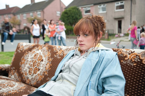 &#39;The Arbor&#39; is nominated for a 2011 BAFTA Award in the &#39;Outstanding Debut by a British Writer, Director or Producer&#39; category. &#40;Pictured: Natalie Gavin in a still from &#39;The Arbor.&#39;&#41; <span class=meta>(Photo courtesy of Artangel Media)</span>