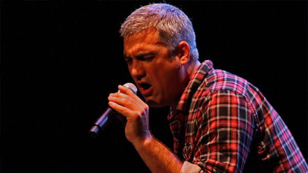 Taylor Hicks performs at the Paramount Theatre...