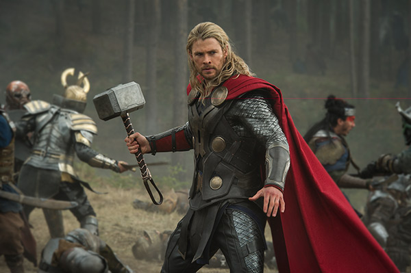 Chris Hemsworth &#40;Thor&#41; appears in a scene from the 2013 movie &#39;Thor: The Dark World.&#39; <span class=meta>(Marvel Studios &#47; Walt Disney Studios)</span>