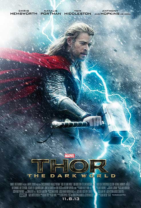Chris Hemsworth appears in a teaser poster for the 2013 movie &#39;Thor: The Dark World.&#39; <span class=meta>(Marvel Studios &#47; Walt Disney Studios)</span>