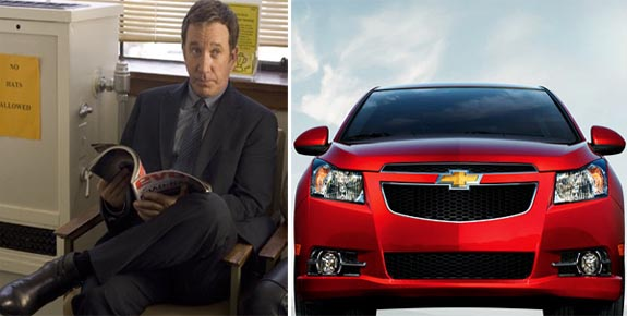 Tim Allen was announced as the new voice for Chevrolet commercials in 2010. Allen advertises Chevy Cruz TV commercials.  <span class=meta>(20th Century Fox Home Entertainment&#47;Chevrolet)</span>