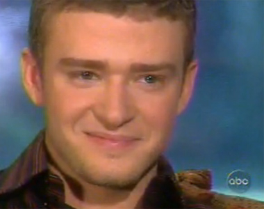 "<div class=""meta image-caption""><div class=""origin-logo origin-image ""><span></span></div><span class=""caption-text"">When asked about his 2002 breakup with Britney Spears, Justin Timberlake told journalist Barbara Walters on the ABC show '20/20' that he used to cry himself to sleep at night. (ABC)</span></div>"