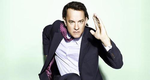 Tom Hanks landed in the No. 2 spot in the &#39;Most Trusted Celebrity&#39; list. The actor had a 65 percent favorability rating, in a poll of 2,012 Americans released by Reuters&#47;Ipsos on August 17, 2011. &#40;Pictured: Tom Hanks appears in a promotional still from his Twitter.&#41; <span class=meta>(Twitter.com&#47;#!&#47;tomhanks)</span>