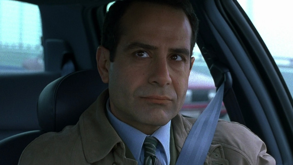 Tony Shalhoub appears in a scene from the television show 'Monk.'
