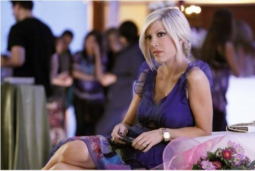 (Pictured: Tori Spelling appears in a still from...
