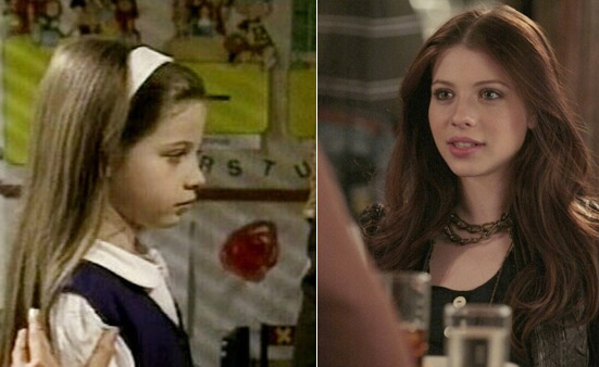 (Pictured: Michelle Trachtenberg appears in a scene from 'All My Children.' / MichelleTractenberg appears in a scene from the CW series 'Gossip Girl' in