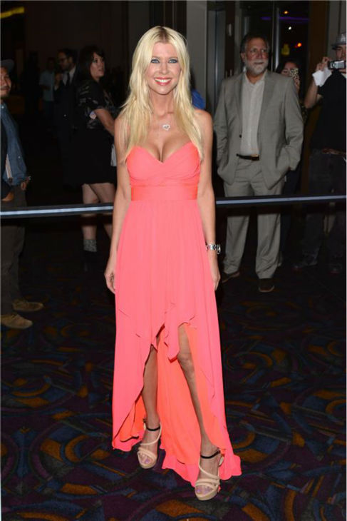 Tara Reid attends the premiere of 'Sharknado' on Aug. 2, 2013.