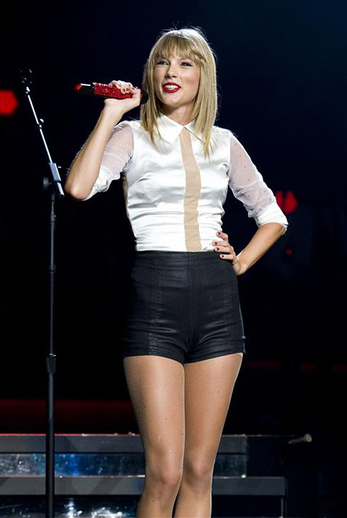 "<div class=""meta ""><span class=""caption-text "">Taylor Swift performs on stage during the first out of four sold-out shows at Staples Center in Los Angeles, where she is continuing her 2013 RED world tour, on Aug. 19, 2013. (Robert Rosano / Startraksphoto.com)</span></div>"