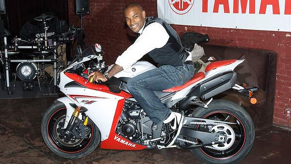 Tyson Beckford turns 41 on Dec. 19, 2012. The model and actor is known for his modeling career with Ralph Lauren as well as films such as &#39;Kings of the Evening&#39; and &#39;Hotel California.&#39;Pictured: Tyson Beckford appears in a photo on a motor bike in 2008. <span class=meta>(flickr.com&#47;photos&#47;realworldrider&#47;)</span>