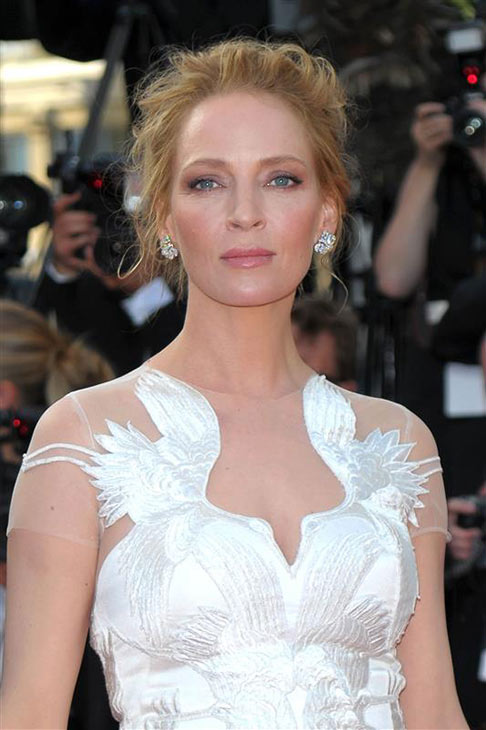 "<div class=""meta ""><span class=""caption-text "">Uma  Thurman appears at the closing ceremony of the Cannes Film Festival in France on May 24, 2014 with Quentin Tarantino, who directed her in the 'Kill Bill' films and in 'Pulp Fiction,' which celebrates its 20th anniversary in October. (Alberto Terenghi / IPA / Startraksphoto.com)</span></div>"