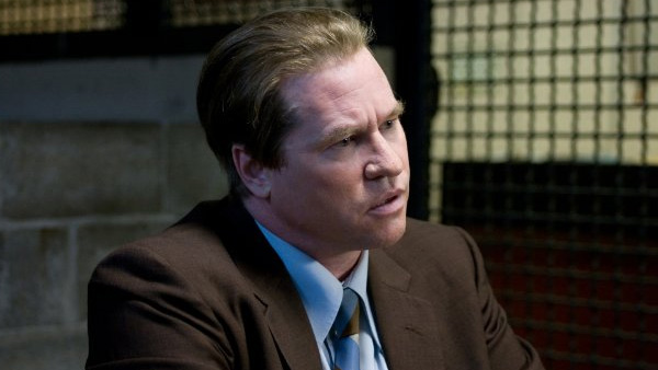 Val Kilmer appears in a photo from the 2011 film 'Kill the Irishman.'