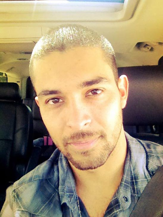 Wilmer Valderrama appears in a photo posted on his official Facebook page in 2012.