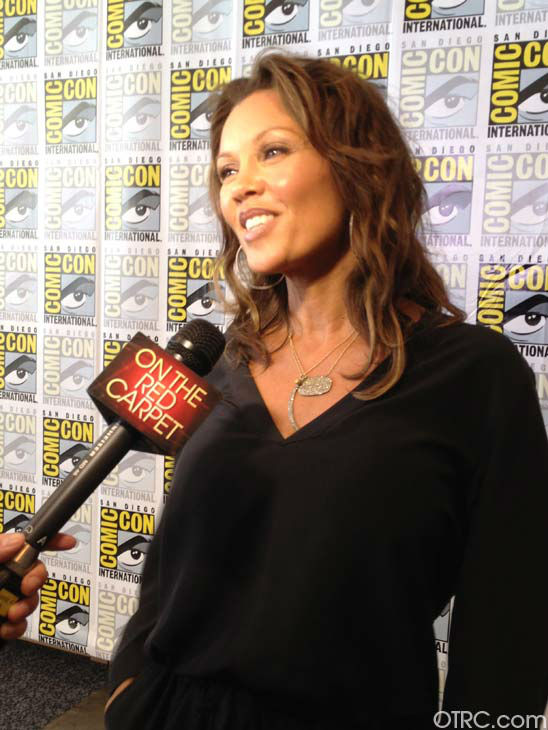 "<div class=""meta ""><span class=""caption-text "">Vanessa Williams of the new television series '666 Park Avenue' appears in a photo at San Diego Comic-Con on Friday, July 13, 2012. (OTRC Photo)</span></div>"