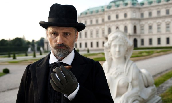 Viggo Mortenson appears in a photo from the 2011 film 'A Dangerous Mind.'