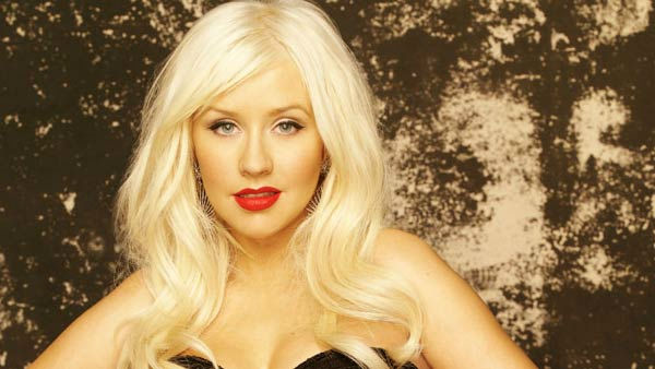 Christina Aguilera appears in promotional photo...