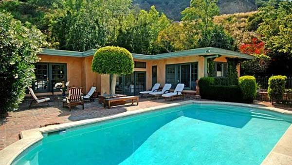 Estella Warren's Beverly Hills home. The actress...