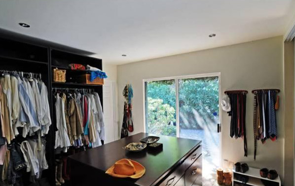A bedroom inside Estella Warren's Beverly Hills home. The actress listed the property for sale in May 2011 for almost 1.4 million.