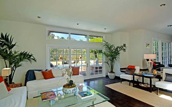 A room inside Estella Warren's Beverly Hills...